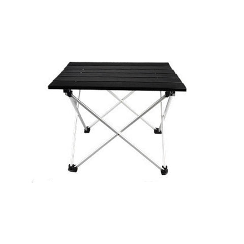 Portable outdoor aluminum alloy table
