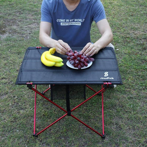 Aluminium Alloy Folding Camping Picnic Table