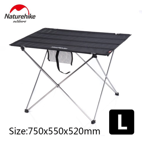 Naturehike  Aluminum Alloy Structure Portable Camping Foldable Picnic Table