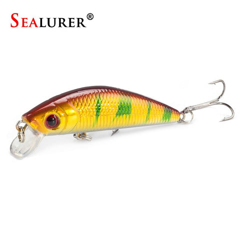 Lifelike Minnow Fishing Lure 7CM 8.5G 6# Hooks  Crankbait