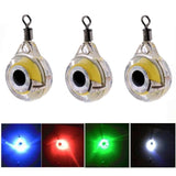 1pc/3pcs Mini  Light LED Deep Drop  Luminous Lure for Attracting Fish