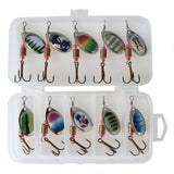 Hand Spinner Fishing Lures Baits Bass Artificial Bait