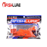 20pcs/lot  Tail Fishy Smell fishing Bait Plastic Worms Lure Fishing