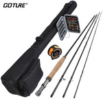 Goture 5/6 Fly Fishing Rod Combo Kit with Carry Bag