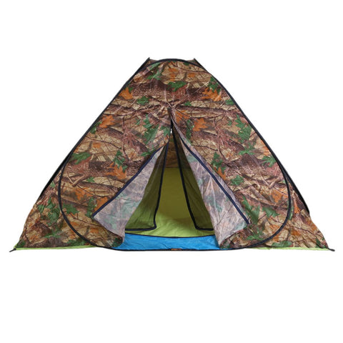 210D Oxford Cloth Waterproof Automatic Pop Up Camping Tent