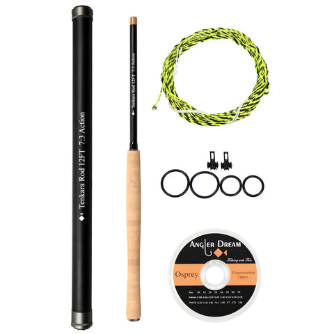 12/13FT Tenkara Fly Fishing Rod Combo