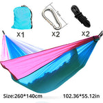 hammock two parachute hammock double hammock for 2