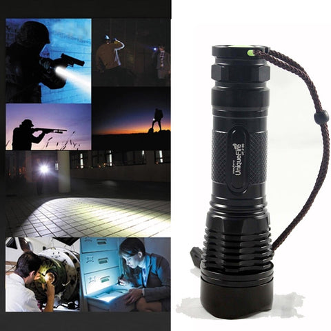 T6 LED Flashlight Water Resistant 5 Modes