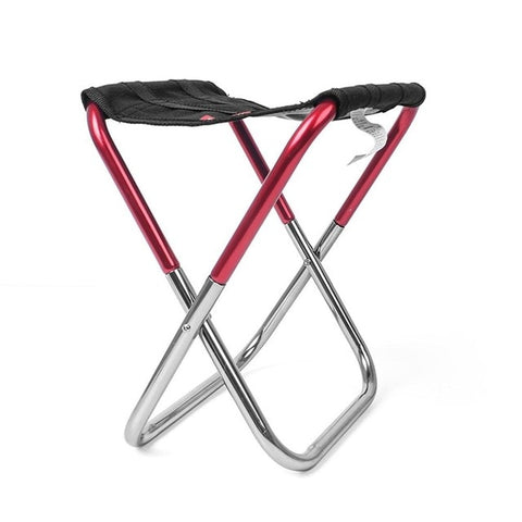 Portable Aluminum Folding Chair Stool Seat Outdoor Fishing Camping