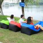 Fast Folding adult beds air lounge chair nylon air sofa bed