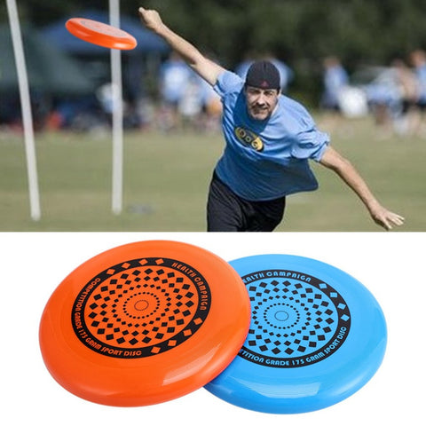 Children Adult Outdoor Playing Flying  Flying Disk Competition