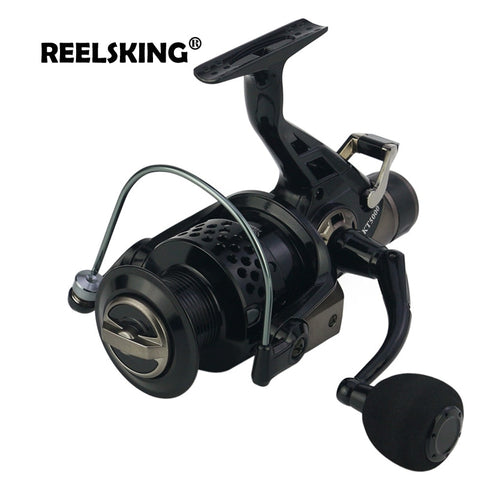 REELSKING new 13+1 BB Front and Rear Drag reels 3000-8000 series Carp nemesis fishing reels