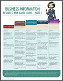 BUSINESS Information - Required For Bank Loan - PART 1