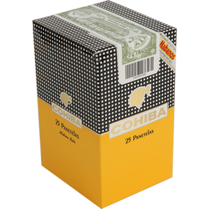 COHIBA - PANETELAS CELLO (PACK OF 5 x 5)