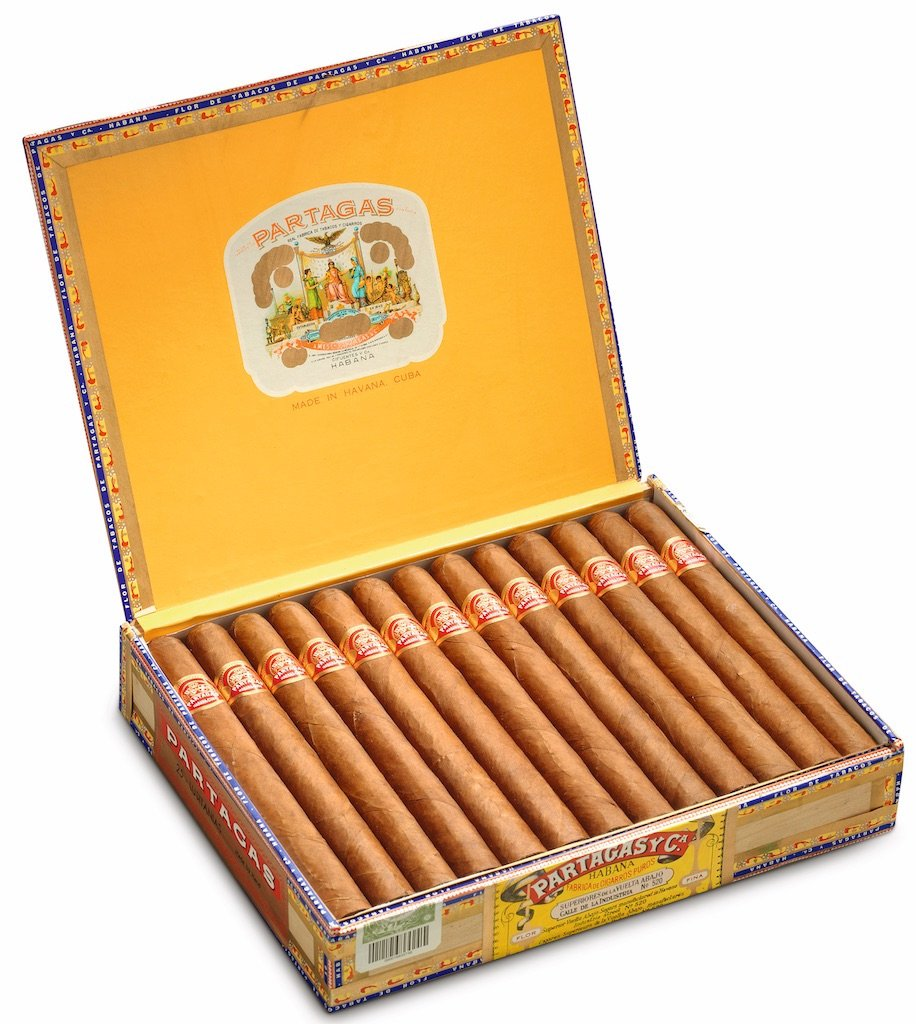 PARTAGAS - LUSITANIAS (BOX OF 25 OR 50)