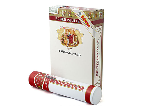 ROMEO Y JULIETA - WIDE CHURCHILLS (3 TUBOS PACK)