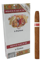 Load image into Gallery viewer, ROMEO Y JULIETA - PURITOS CELLO (PACK OF 5)