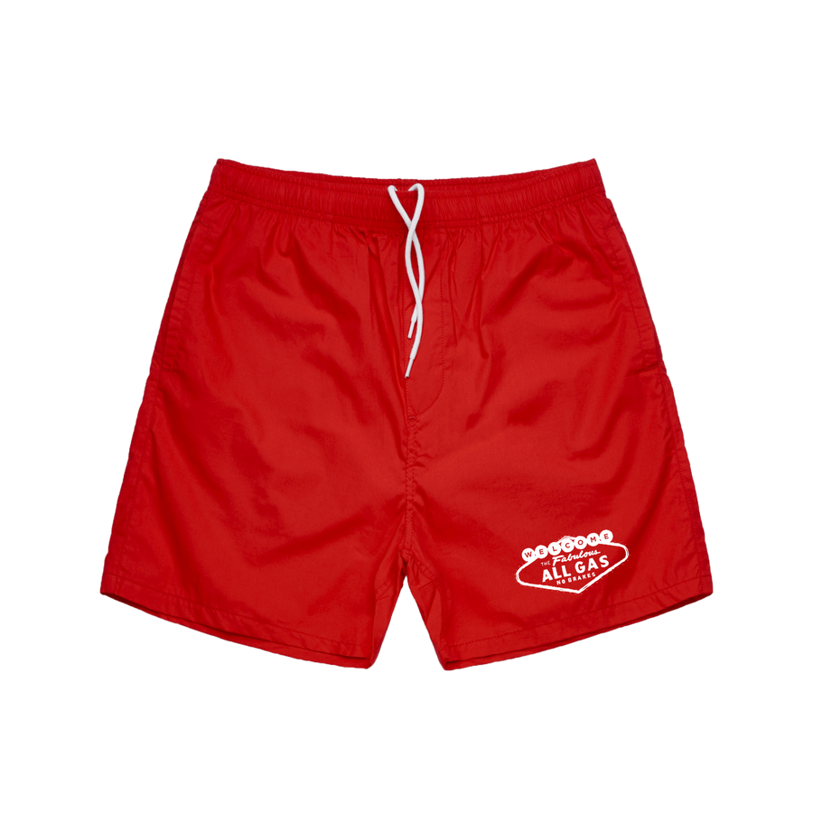 Welcome to Vegas Swim Shorts