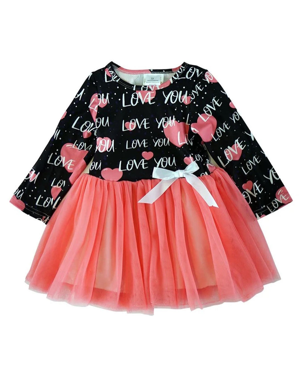 Love Hearts Tulle Dress