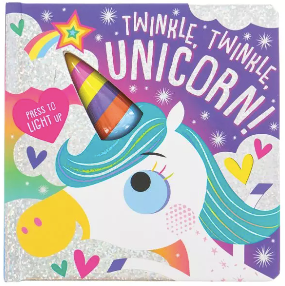 Twinkle Twinkle Unicorn Light Up Board Book