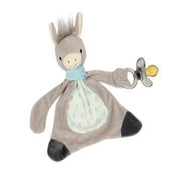 Dandy the Donkey Paci Blankie - Hummingbirdinashoebox
