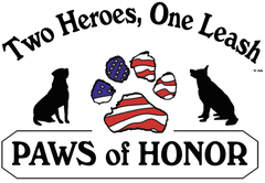 Paws of Honor - Two Heroes, One Leash