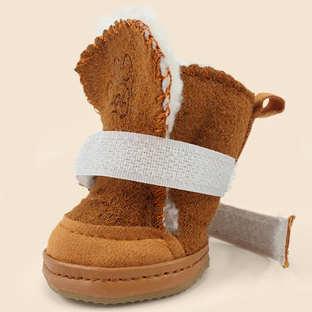 4 Pcs Cat Winter Shoes - Abound Pet Supplies