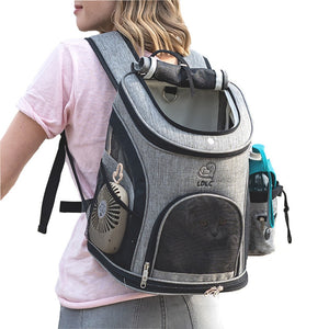 Outdoor Cat & Small Dog Backpack - Abound Pet Supplies