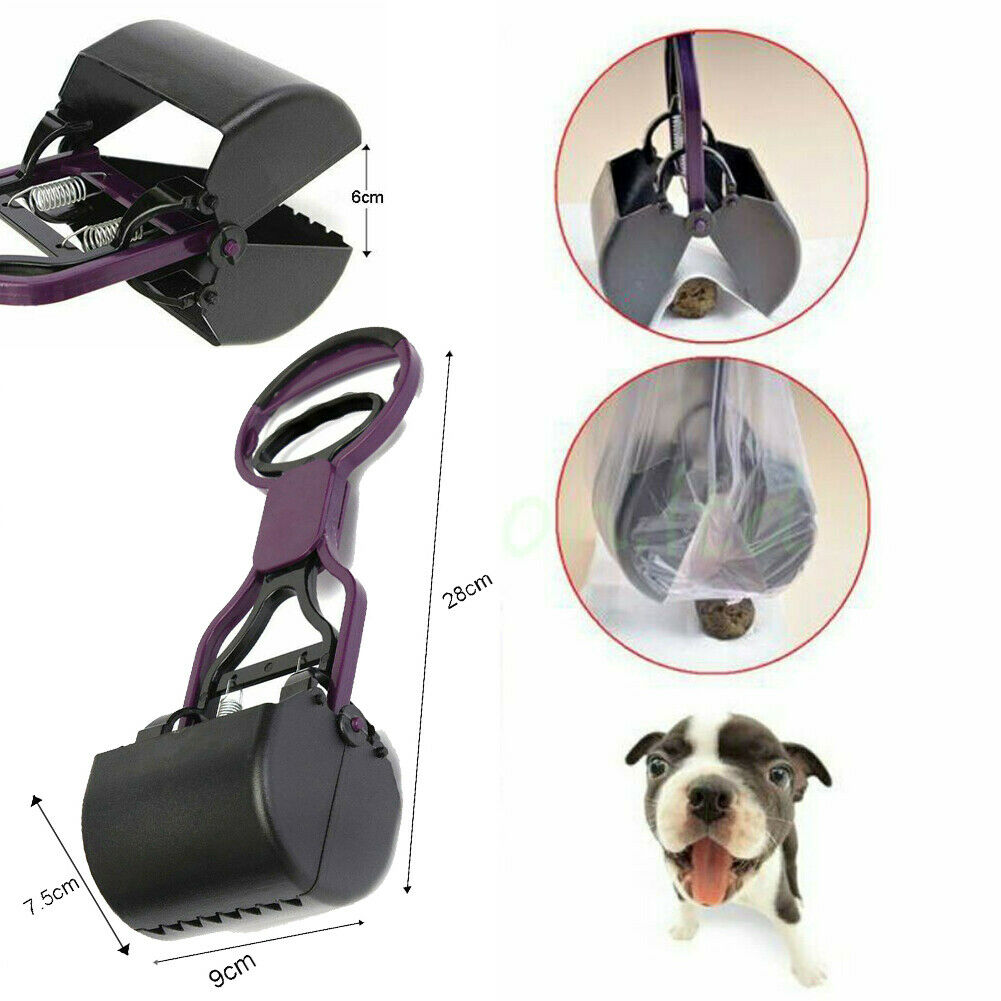 Portable Short Handle Dog Poop Scooper - Abound Pet Supplies