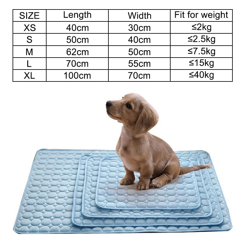 Pet Cooling Mat, Summer Kennel Bed Pad - Abound Pet Supplies
