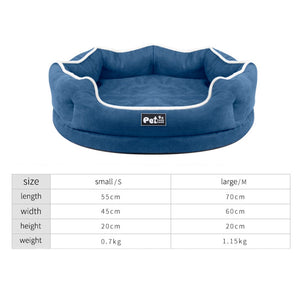 Bolux Memory-Foam Dog Cuddler Bed - Abound Pet Supplies