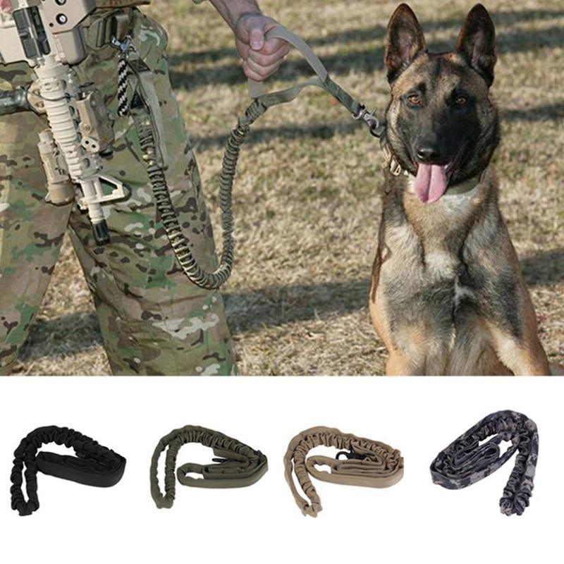 1000D Nylon Tactical Dog Leash - Abound Pet Supplies