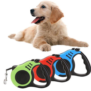 3M/5M Retractable Durable Dog Leash - Abound Pet Supplies