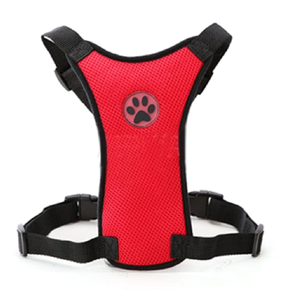 Breathable Dog Car Harness with Seat belt Leash - Abound Pet Supplies