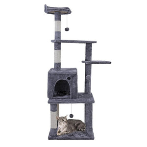 Cat Activity Tower - Abound Pet Supplies