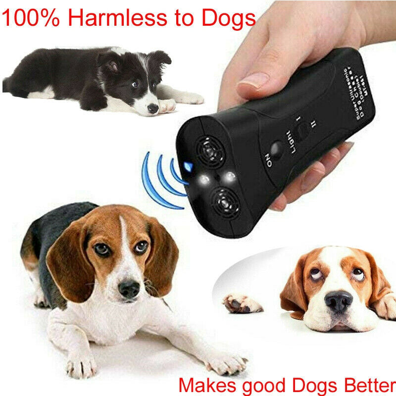 Anti Barking Handheld Ultrasonic Dog Training Device - Abound Pet Supplies