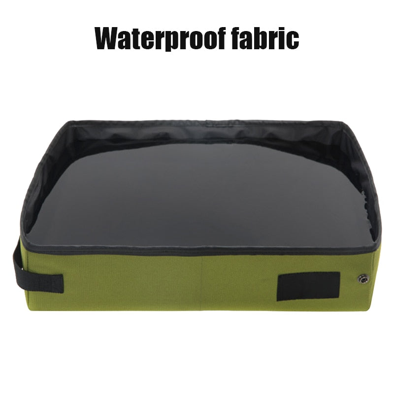 Portable Collapsible Cat Litter Box for Travelling - Abound Pet Supplies
