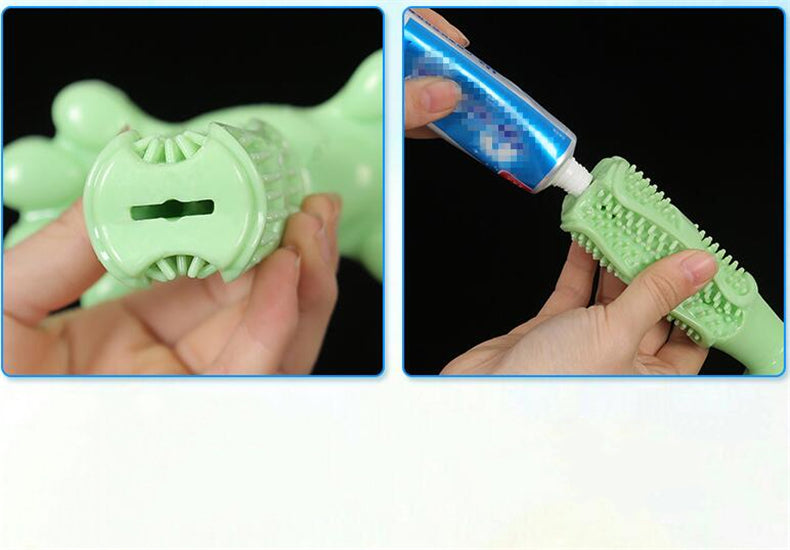 Dog Toothbrush Chew Toy - Abound Pet Supplies