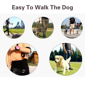 Hands Free Wrist Leash for Small & Medium size Dogs - Abound Pet Supplies