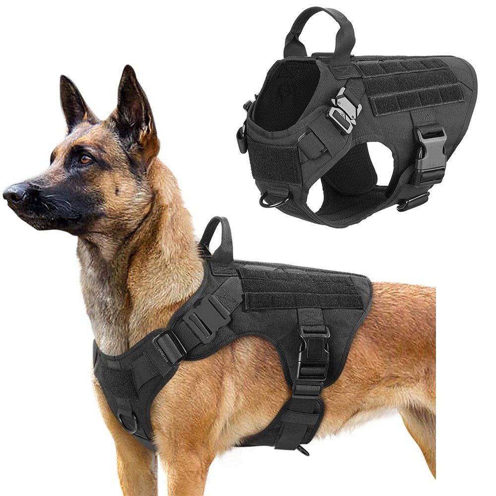 Police Tactical Dog Harness - Abound Pet Supplies