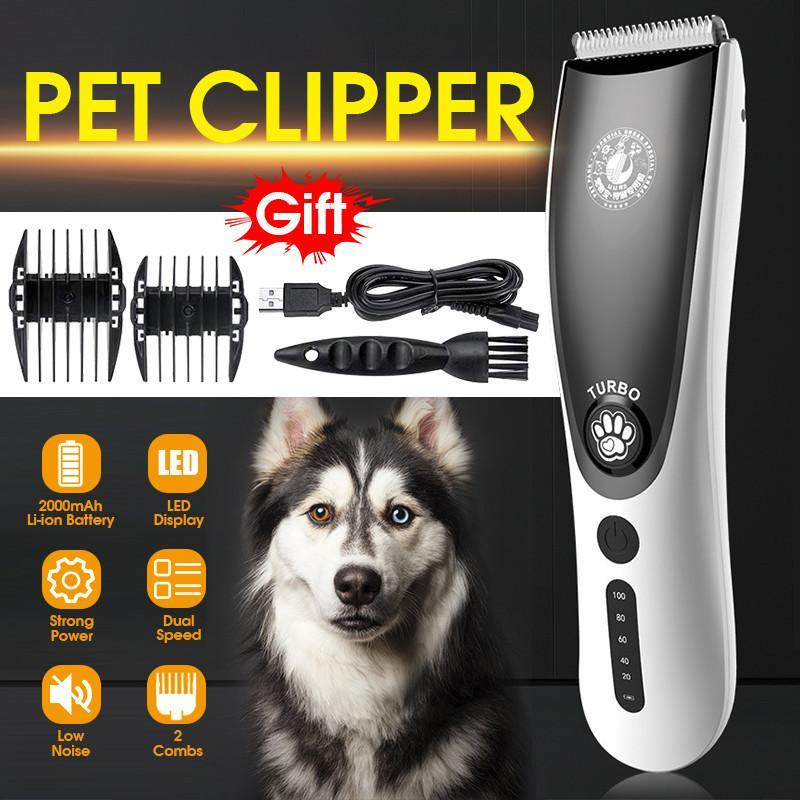 100-240V 2 Speed Dog Grooming Trimmers - Abound Pet Supplies
