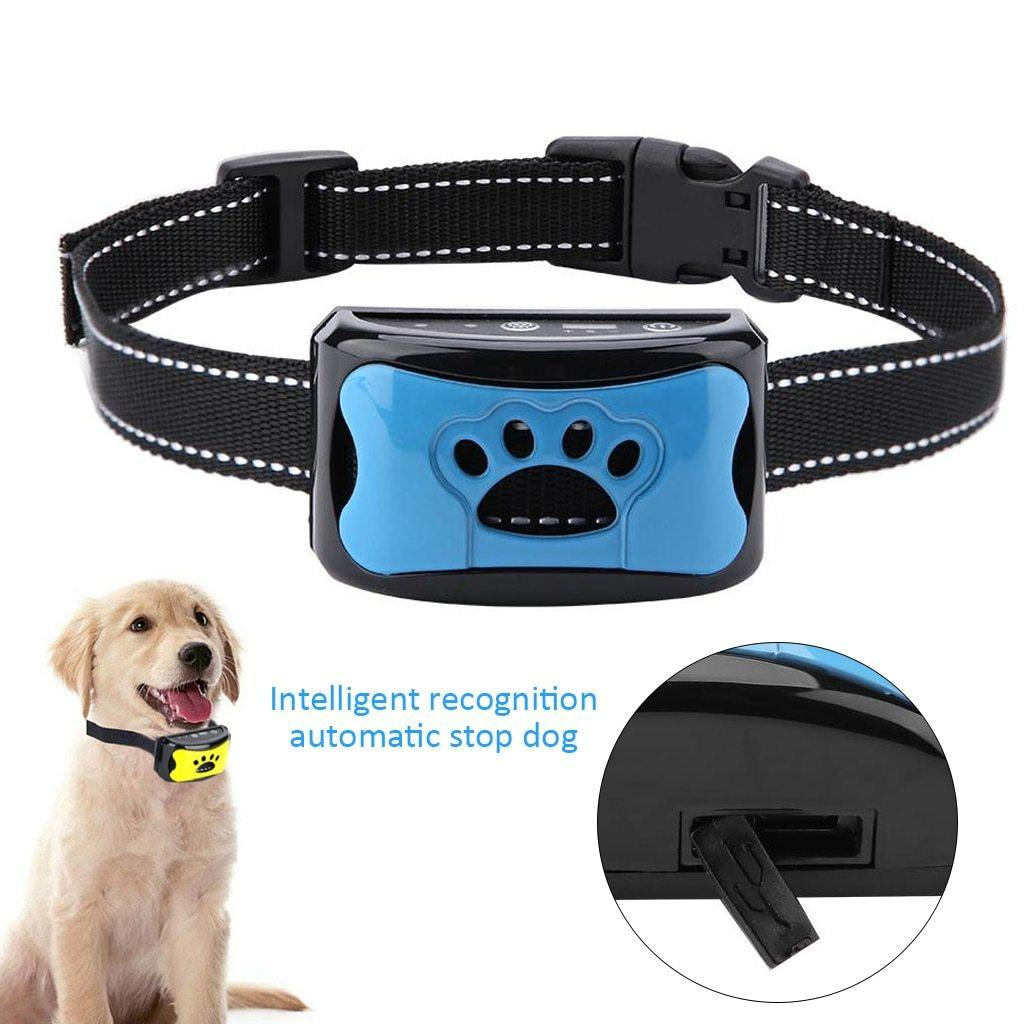 Waterproof Dog Bark Collar - Safe Anti Barking Device - Abound Pet Supplies