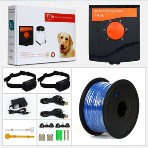 TP16 Pet Dog Electric Fence System - Abound Pet Supplies