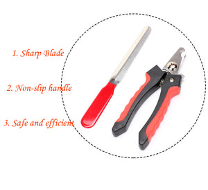 Professional Dog Nail Clipper - Abound Pet Supplies
