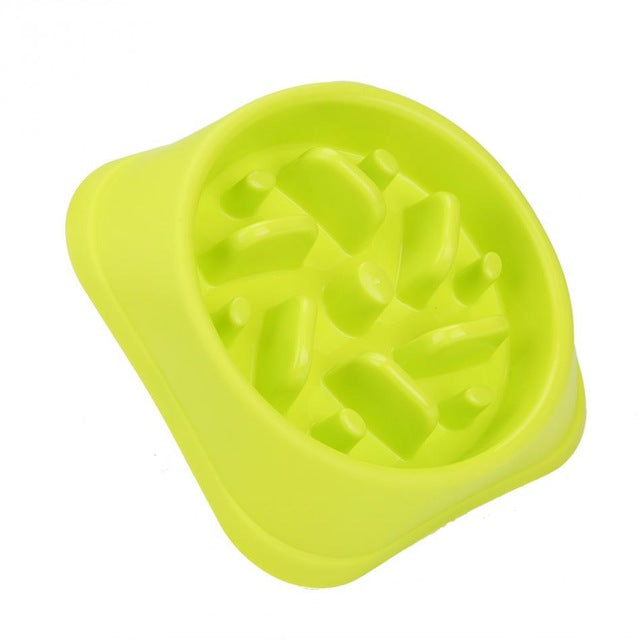 Slow Feeder Dog Bowl - Abound Pet Supplies