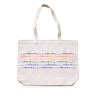ALAMEDA RAINBOW WAVE TOTEBAG