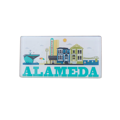 ALAMEDA CITYSCAPE MAGNET