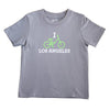 I BIKE LOS ANGELES KIDS SHORT SLEEVE TEE