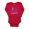 I TRIKE BROOKLYN KIDS LONG SLEEVE ONEPIECE
