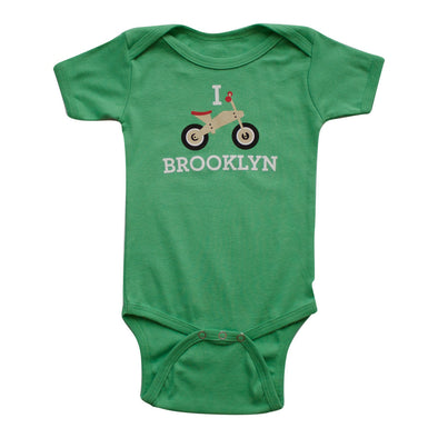 I BALANCE BIKE BROOKLYN KIDS SHORT SLEEVE ONEPIECE